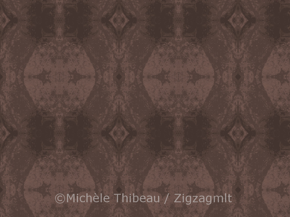 Another pattern from the Gaspé Mixed Textures collection. The colour is blush.